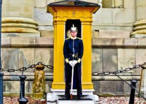 Landmarks of Stockholm - Royal Guards