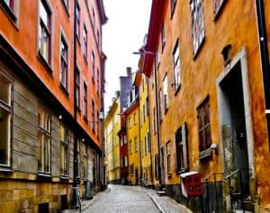 Landmarks of Stockholm - Gamla Stan