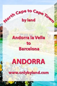 Andorra la Vella to Barcelona