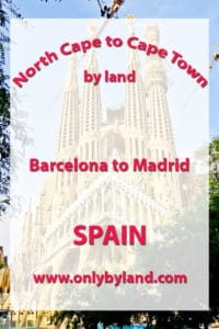 Barcelona to Madrid