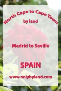 Madrid to Seville