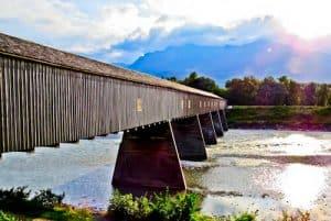 Things to do in Liechtenstein - Rheinbrücke bridge