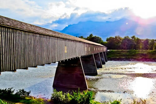 Things to do in Liechtenstein - Rheinbrücke bridge