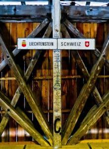 Rheinbrücke bridge - Liechtenstein