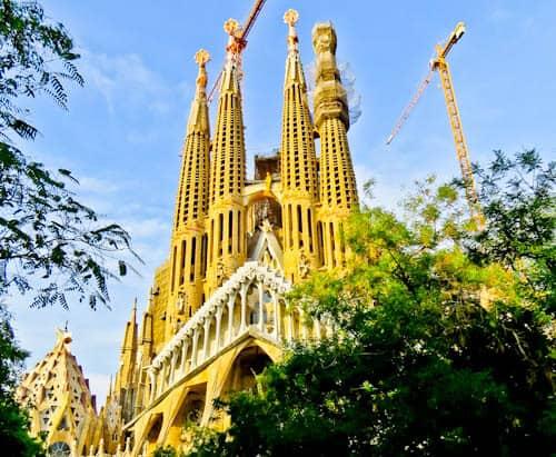 Barcelona Landmarks - Sagrada Familia