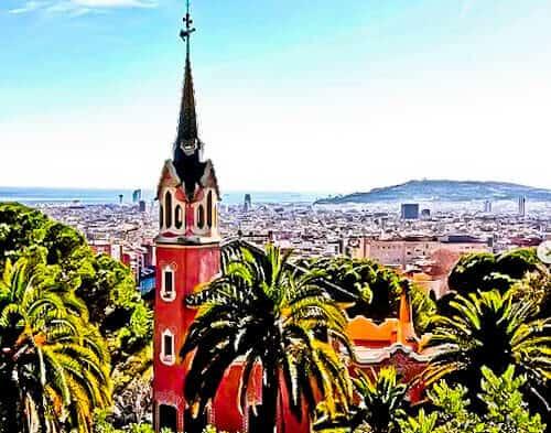 Barcelona Landmarks - Park Guell