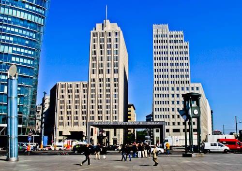 Berlin Landmarks - Potsdamer Platz
