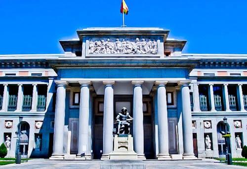 Madrid Landmarks - Del Prado Museum