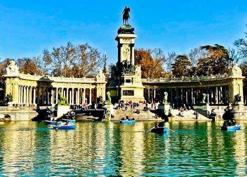 Madrid Landmarks - Retiro Park