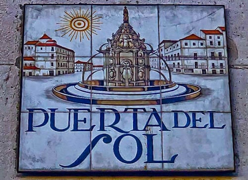 Madrid Landmarks - Puerta del Sol