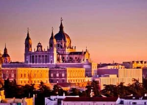 Madrid Landmarks - Almudena Cathedral