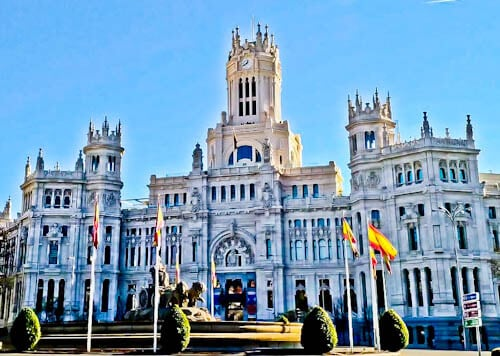 Madrid Landmarks - Cybele Palace