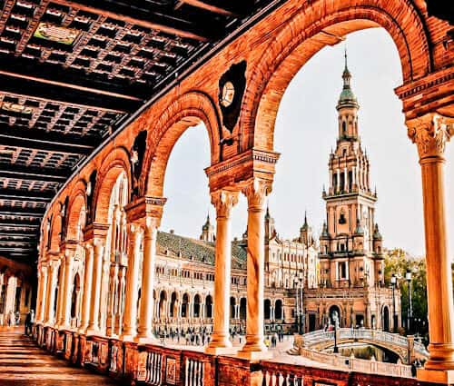 Things to do in Seville - Plaza de Espana