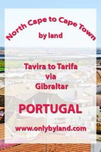 Tavira to Tarifa via Gibraltar