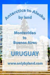 A visit to Montevideo and the points of interest including Salvo Palace (Palacio Salvo), Pocitos beach, Plaza of Independence (Plaza Independencia), Mercado del Puerto, Solis Theater, Palacio Taranco, Artigas Mausoleum, Montevideo Metropolitan Cathedral, Punta Brava Lighthouse and Estévez Palace before taking the cruise ship to Buenos Aires