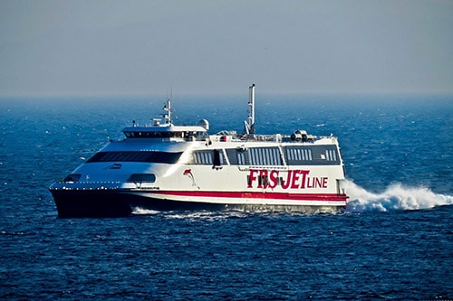 FRS ferry service from Tarifa to Tanger Ville - €37 one way