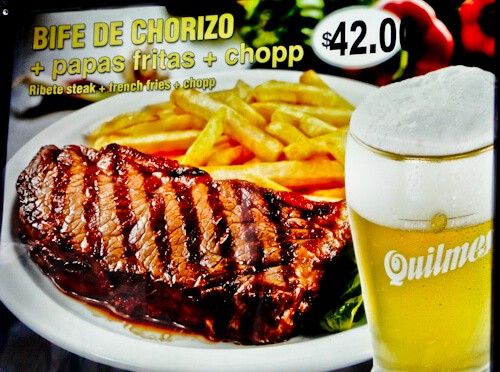 Things to do in Buenos Aires - Steak and chips