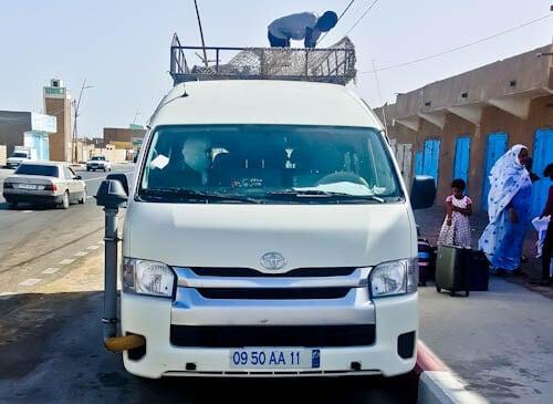 Nouadhibou to Nouakchott - 6000 ouguiya- 5 hours