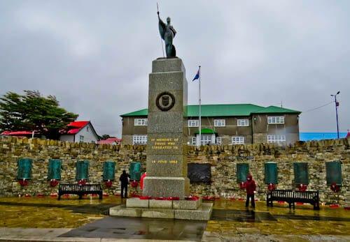 Stanley Falkland Islands - Conflict