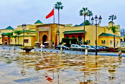 Rabat Morocco - Royal Palace