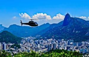 Helicopter tour, Rio De Janeiro
