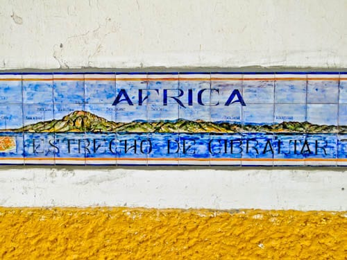 Tarifa Spain - Gaze over to Africa