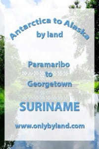 Paramaribo to Georgetown