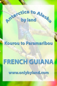 French Guiana - A visit to the points of interest of Kourou and the Iles du Salut, home of the prison and famous Devil's island. Afterwards I take the overland route to Paramaribo, Suriname.
