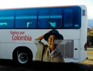 Bus from Cucuta to Bucaramanga, 6 hours, 31,000 pesos