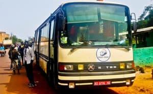 Bus from Mali border, Diboli to Bamaco - 13000 francs