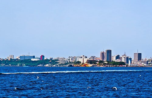 Dakar, Senegal Skyline