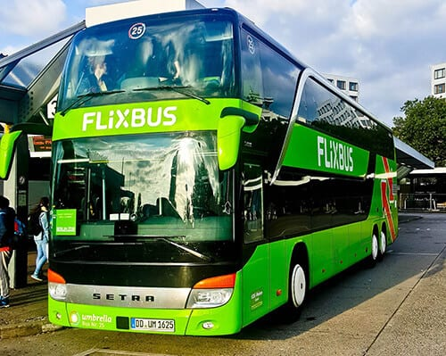 Flixbus - Copenhagen to Berlin night service