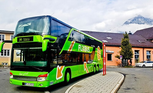 Flixbus - Munich to Innsbruck