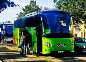Flixbus - Stockholm to Copenhagen night service