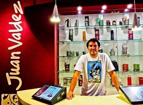 Juan Valdez coffee shop