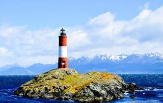 Les Eclaireurs Lighthouse, Ushuaia, Argentina