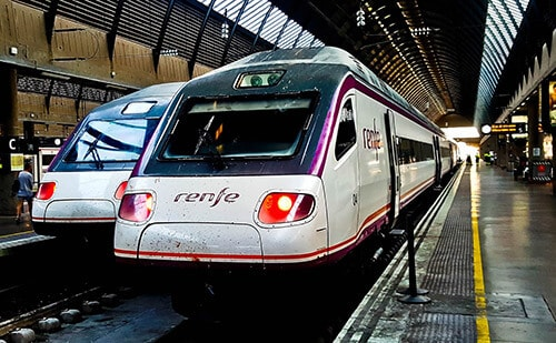 Madrid to Sevilla AVE bullet train