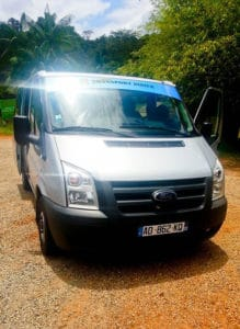 Minivan from St George to Cayenne, €31, 3 hours