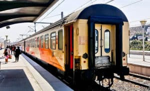 ONCF train service from Tangiers to Rabat - 101 Dirhams