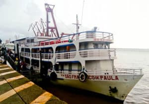 Overnight boat, Belém to Macapa, 24 hours