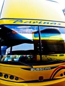 Overnight bus from Ciudad Bolívar to San Cristobal, 18 hours, 320 Bolivars