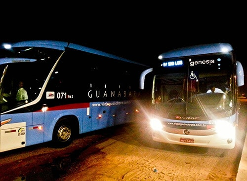 Overnight bus from Fortaleza to Sao Luis, 19 hours, 160 Reais