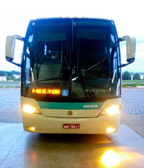 Overnight bus from Foz do Iguaçu to Rio de Janiero