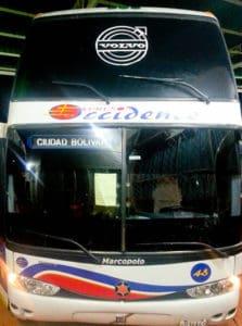 Overnight bus from Santa Elena to Ciudad Bolívar, 12 hours, 20 Reais