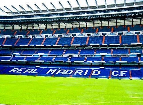 Madrid Landmarks - Santiago Bernabeu Stadium