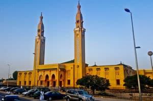 Saudi Mosque in Nouakchott