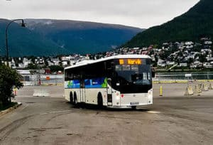Tromso to Narvik bus - 4 hours - 385 NOK
