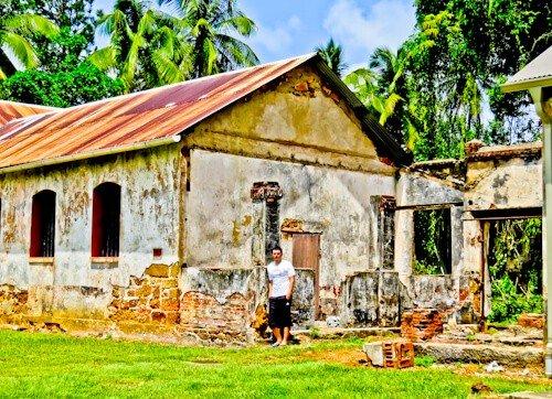 French Guiana, Iles du salut - Prison
