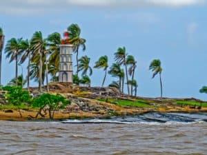 French Guiana - Kourou - Dreyfus Tower