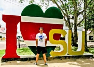 Things to do in Paramaribo - I Love Suriname Sign